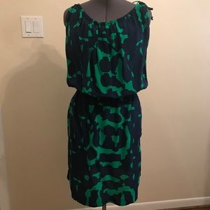 Plenty by Tracy Reese Navy & Green Dress
